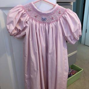 TBBC sandy smocked dress